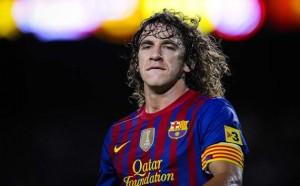 Carles Puyol Resmi Tambah Masa Kontrak Camp Nou poster