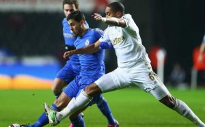 Swansea City Susul Bradford City Ke Final Piala Liga Inggris photo