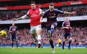 Arsenal Menang Tipis Atas Stoke City photo