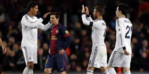 Copa Del Rey Hajar Barca Di Camp Nou, Real Madrid Ke Final photo