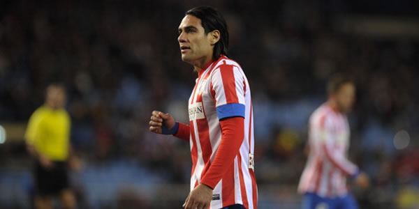 Falcao Bangga Atletico Madrid Masuk Final Copa Del Rey photo