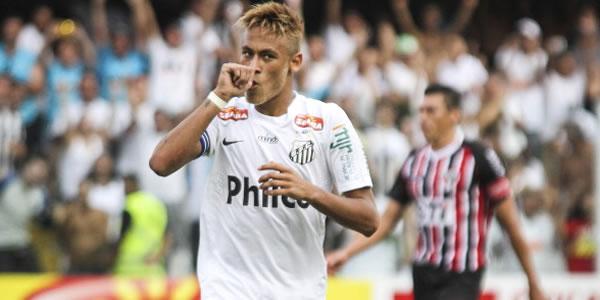 Luis Fabiano Desak Neymar Ke Barcelona photo