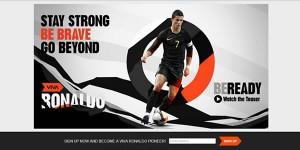 Cristiano Ronaldo Punya Situs Baru Vivaronaldo.Com photo