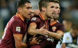 AS Roma Gilas Bologna Dengan Lima Gol