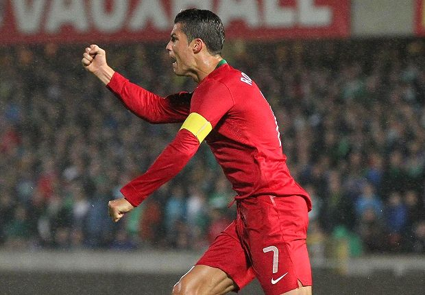 Cristiano Ronaldo Simbol Portugal