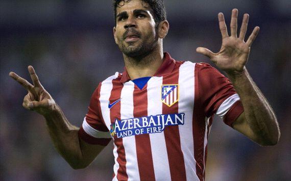 Gol tunggal Diego Costa