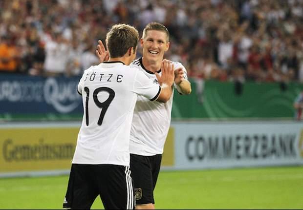 Gotze dan Schweinsteiger