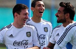 Lionel Messi, Gonzalo Higuain & Sergio Aguero