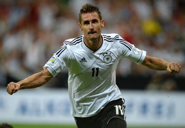 Miroslav Klose Jadi Top Skor Jerman