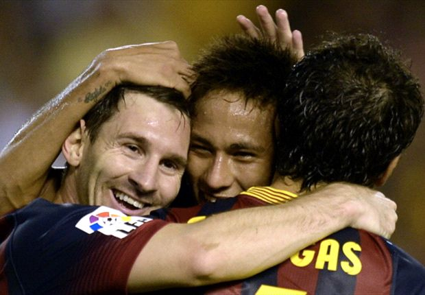 Neymar kagum terhadap kehebatan Messi