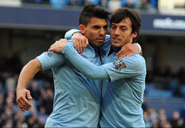 Sergio Aguero dan David Silva dalam kondisi fit