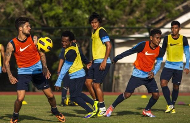 Timnas Indonesia U-23 vs Timor Leste 30 Oktober 2013
