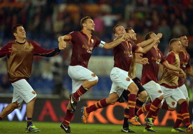 AS Roma belum terbendung di Serie A Italia