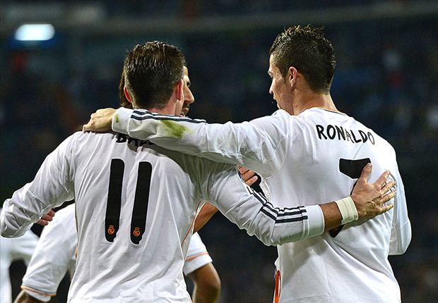 Carlo Ancelotti Puji Cristiano Ronaldo Dan Gareth Bale