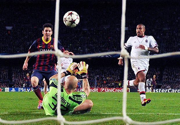 Dua gol ke Gawang AC Milan Buktikan Comebacknya Lionel Messi