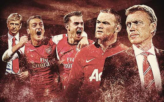 Duel Manchester United vs Arsenal