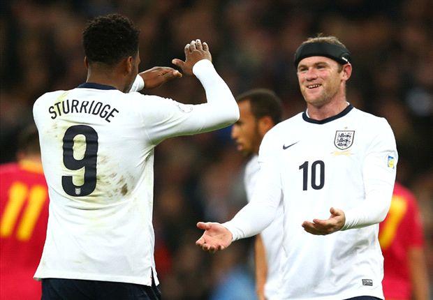 Duet Wayne Rooney & Daniel Sturridge Kontra Jerman