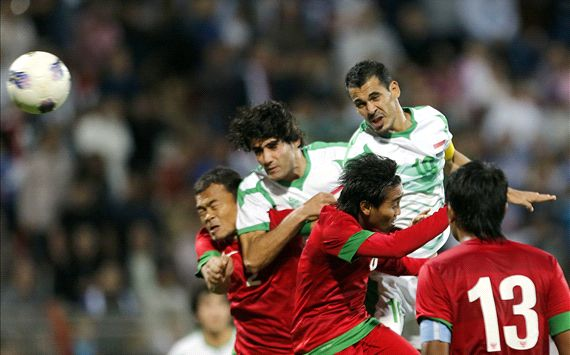 Indonesia vs Irak, 19 November