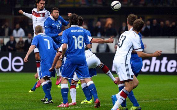 Italia dan Jerman Bermain Imbang Skor Akhir 1-1