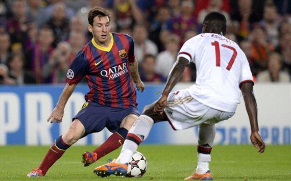 Skor Akhir Barcelona vs AC Milan 3-1