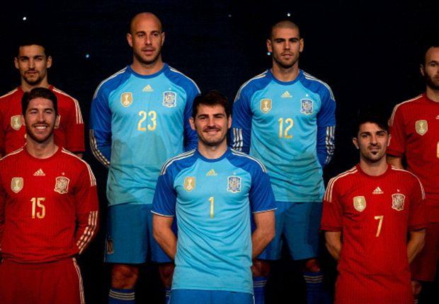 Spanyol Rilis Jersey Baru Serba Merah Untuk Piala Dunia 2014