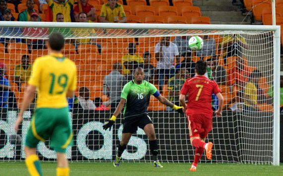 Spanyol Takluk dengan skor tipis 1-0 Di Afrika Selatan