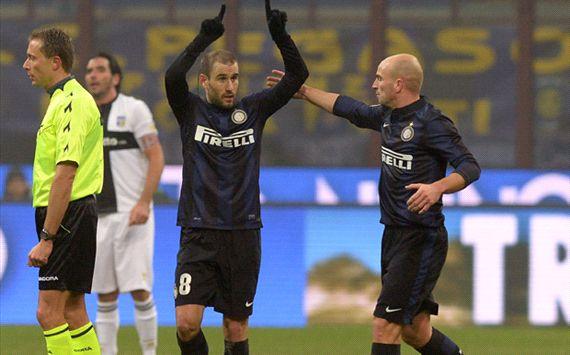 FC Internazionale vs Parma Imbang, Skor akhir 3-3