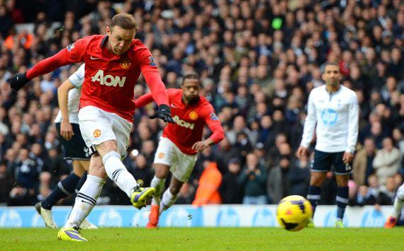 Manchester United vs Tottenham bermain imbang 2-2