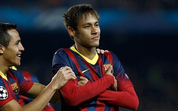 Menang 6-1 atas Celtic, Neymar Antar Barcelona Juara Grup