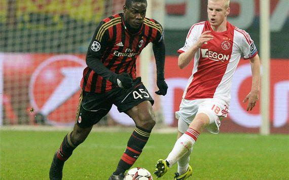 Seri lawan Ajax, AC Milan Temani Barcelona ke 16 besar Champion