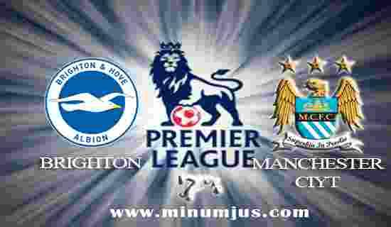 Prediksi Brighton Hove Albion vs Manchester City 12 Agustus 2017 - Liga Inggris