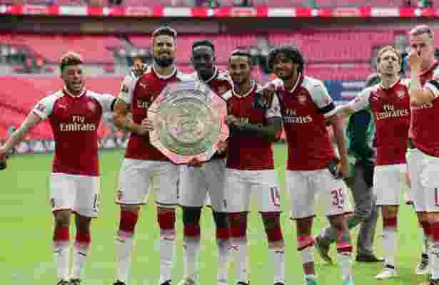 Arsenal Sukes Menjuarai Community Shield Lewat Adu Penalti