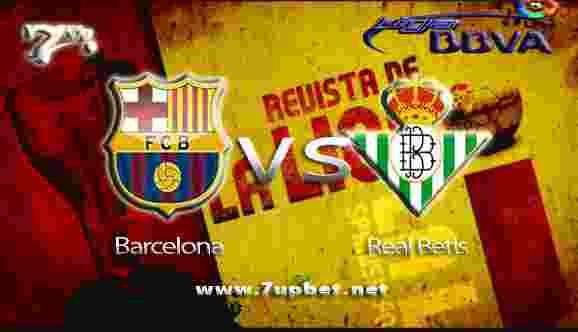 Prediksi Barcelona vs Real Betis 21 Agustus 2017 - Liga Spanyol