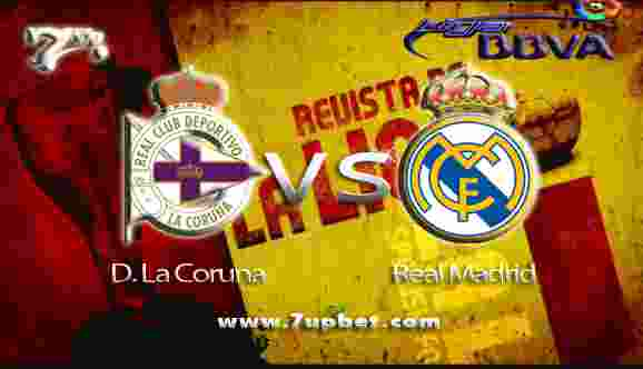 Prediksi Deportivo La Coruna vs Real Madrid 21 Agustus 2017 - Liga Spanyol