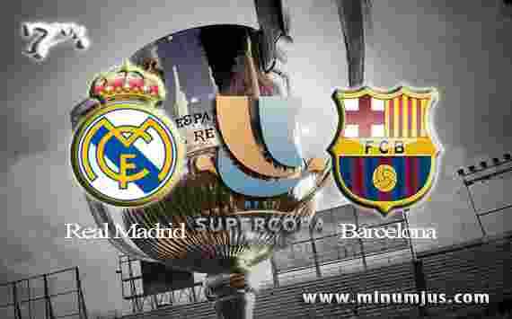 Prediksi Real Madrid vs Barcelona 17 Agustus 2017 - Piala Super Spanyol