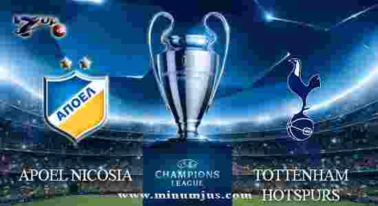 Prediksi APOEL Nicosia vs Tottenham Hotspurs 27 September 2017 - Liga Champions