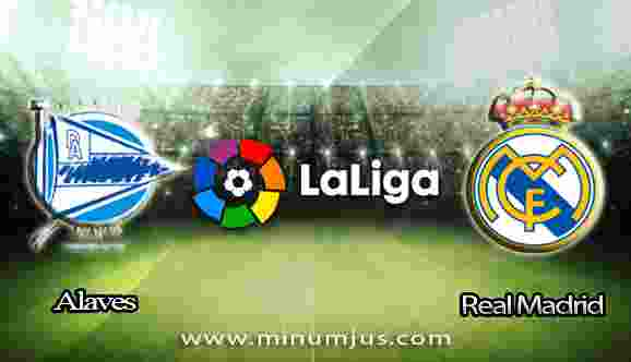 Prediksi Alaves vs Real Madrid 23 September 2017 - Liga Spanyol