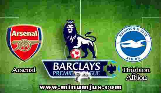 Prediksi Arsenal vs Brighton Hove Albion 01 Oktober 2017 - Liga Inggris