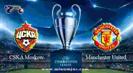 Prediksi CSKA Moscow vs Manchester United 28 September 2017 - Liga Champions