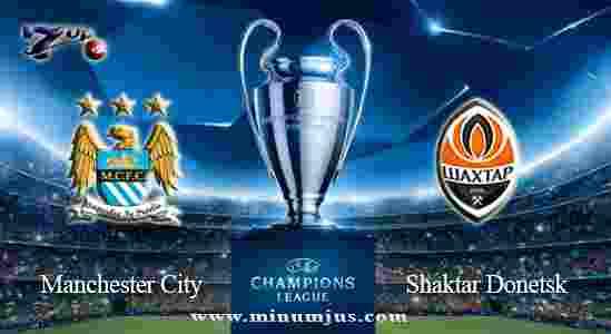 Prediksi Manchester City vs Shaktar Donetsk 27 September 2017 - Liga Champions