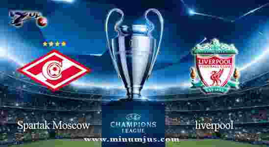Prediksi Spartak Moscow vs Liverpool 27 September 2017 - Liga Champions