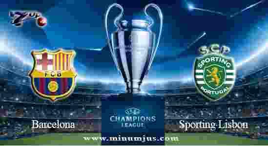 Prediksi Barcelona vs Sporting Lisbon