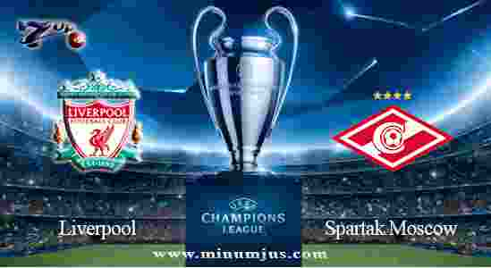 Prediksi Liverpool vs Spartak Moscow