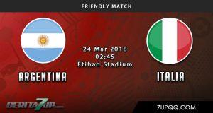 Prediksi Argentina vs Italia