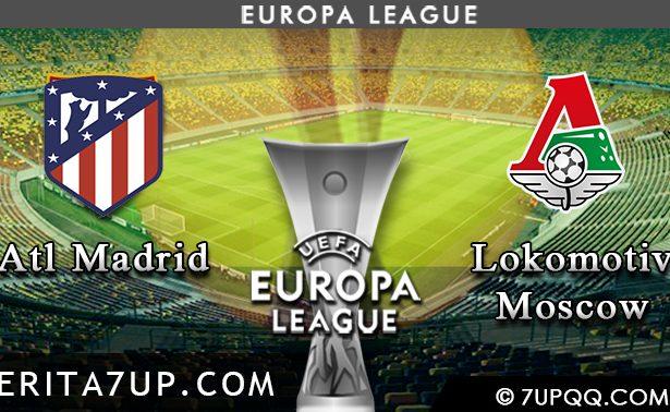 Prediksi Atletico Madrid vs Lokomotiv Moscow