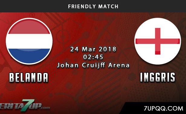 Prediksi Belanda vs Inggris