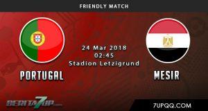 Prediksi Portugal vs Mesir