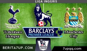 Prediksi Tottenham Hotspur vs Manchester City 15 April 2018 - Liga Inggris