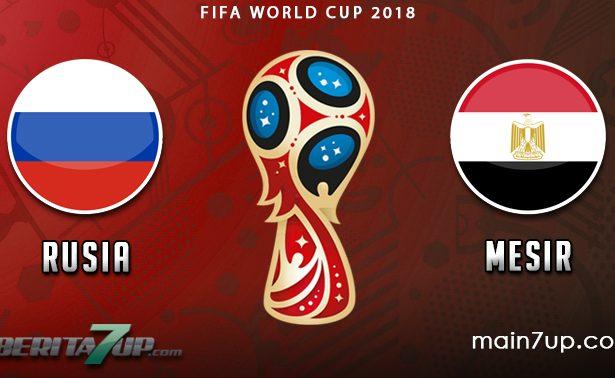 Prediksi Rusia vs Mesir