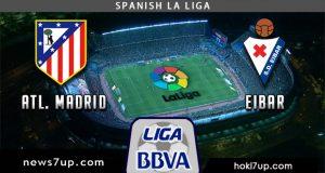 Prediksi Atletico Madrid vs Eibar